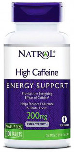 Natrol High Caffeine 200 мг (100 таб)