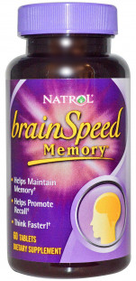 Natrol BrainSpeed Memory (60 таб)